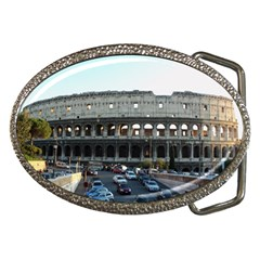 Roman Colisseum Belt Buckle (Oval)