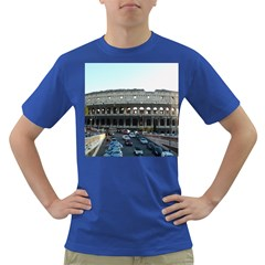 Roman Colisseum Colored Mens'' T-shirt