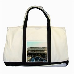 Roman Colisseum Two Toned Tote Bag