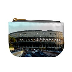 Roman Colisseum Coin Change Purse