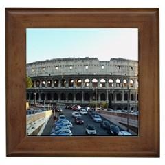 Roman Colisseum Framed Ceramic Tile