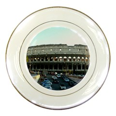 Roman Colisseum Porcelain Display Plate