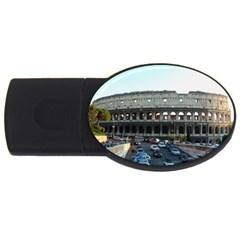 Roman Colisseum 4gb Usb Flash Drive (oval)