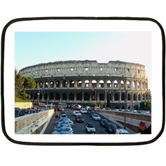 Roman Colisseum Twin Sided Mini Fleece Blanket