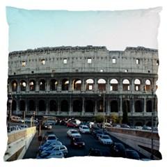Roman Colisseum Large Cushion Case (one Side)