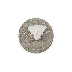 Quarter of a Sand Dollar 4 Pack Golf Ball Marker