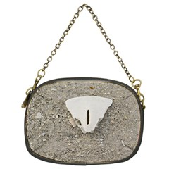 Quarter Of A Sand Dollar Twin Sided Evening Purse