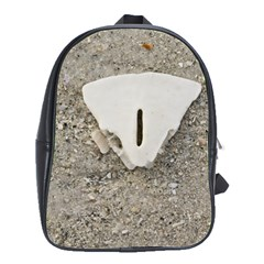 Quarter of a Sand Dollar Large School Backpack