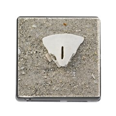 Quarter Of A Sand Dollar Card Reader With Storage (square)