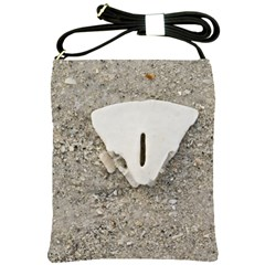 Quarter Of A Sand Dollar Cross Shoulder Sling Bag