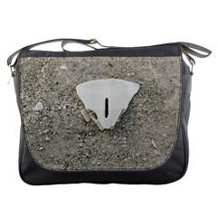 Quarter Of A Sand Dollar Messenger Bag