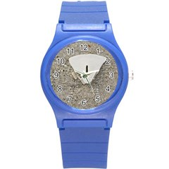 Quarter of a Sand Dollar Round Plastic Sport Watch Small