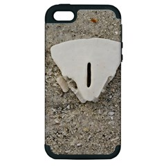 Quarter of a Sand Dollar Apple iPhone 5 Hardshell Case (PC+Silicone)