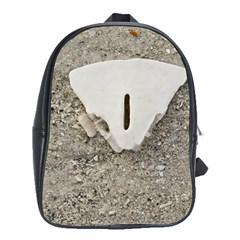 Quarter of a Sand Dollar School Bag (XL)