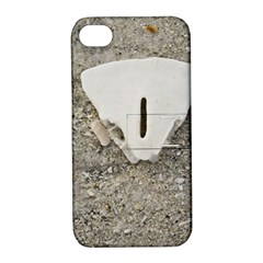 Quarter Of A Sand Dollar Apple Iphone 4/4s Hardshell Case With Stand