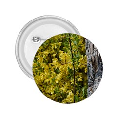 Yellow Bells Regular Button (Round)