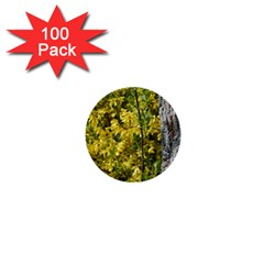 Yellow Bells 100 Pack Mini Button (Round)