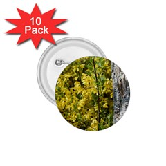 Yellow Bells 10 Pack Small Button (Round)