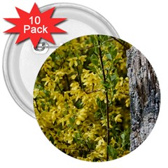 Yellow Bells 10 Pack Large Button (Round)