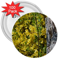 Yellow Bells 100 Pack Large Button (round)