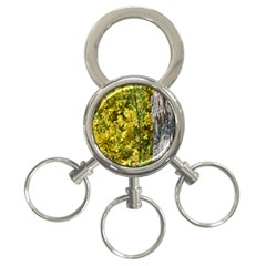 Yellow Bells 3-Ring Key Chain