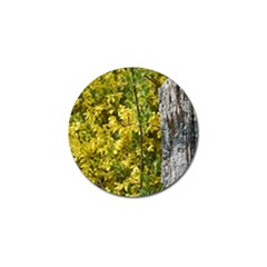 Yellow Bells 4 Pack Golf Ball Marker