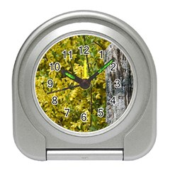 Yellow Bells Desk Alarm Clock
