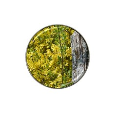 Yellow Bells Golf Ball Marker (for Hat Clip)