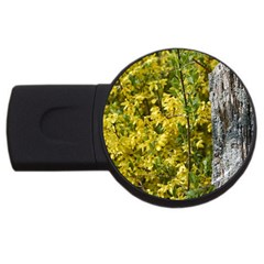 Yellow Bells 4gb Usb Flash Drive (round)
