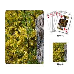 Yellow Bells Standard Playing Cards