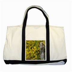 Yellow Bells Two Toned Tote Bag