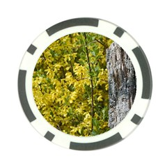 Yellow Bells Poker Chip