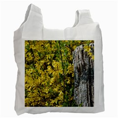 Yellow Bells Twin Sided Reusable Shopping Bag