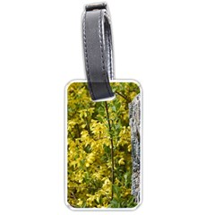 Yellow Bells Single-sided Luggage Tag