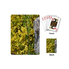 Yellow Bells Playing Cards (Mini)