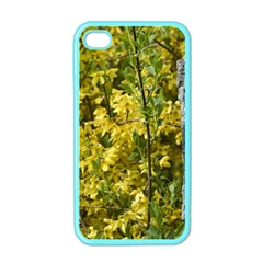 Yellow Bells Apple iPhone 4 Case (Color)