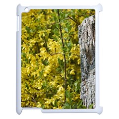 Yellow Bells Apple iPad 2 Case (White)