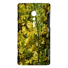 Yellow Bells Sony Xperia ion Hardshell Case