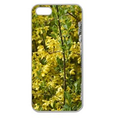 Yellow Bells Apple Seamless iPhone 5 Case (Clear)