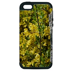Yellow Bells Apple Iphone 5 Hardshell Case (pc+silicone)