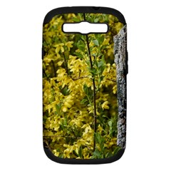 Yellow Bells Samsung Galaxy S Iii Hardshell Case (pc+silicone)