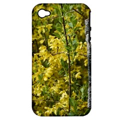 Yellow Bells Apple iPhone 4/4S Hardshell Case (PC+Silicone)