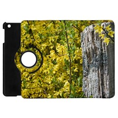 Yellow Bells Apple iPad Mini Flip 360 Case