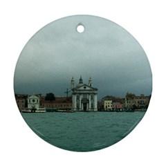 Venice Ceramic Ornament (Round)