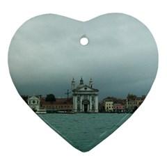 Venice Ceramic Ornament (Heart)