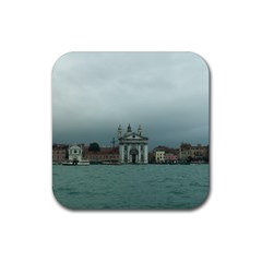 Venice 4 Pack Rubber Drinks Coaster (Square)