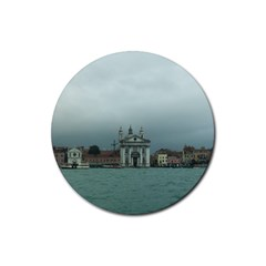 Venice 4 Pack Rubber Drinks Coaster (round)