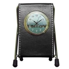 Venice Stationery Holder Clock