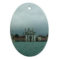 Venice Oval Ornament (Two Sides)
