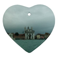 Venice Heart Ornament (two Sides)